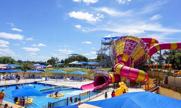 Visit Victoria's biggest theme park in Wallington